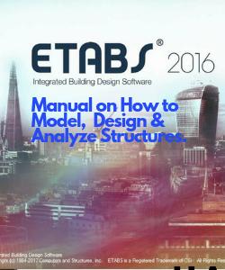 ETABS 2016 Manual