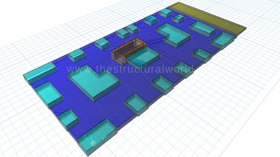 Raft Foundation Design using Csi-SAFE | The Structural World