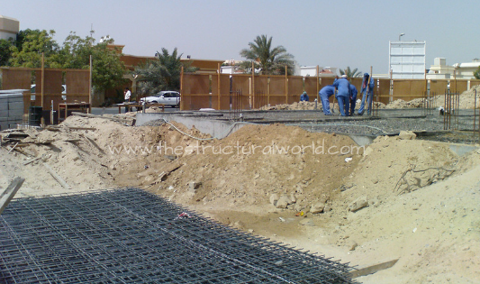 Compacted Ground for Grade Slab Mesh Installation