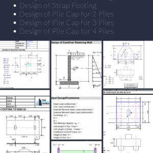 Pile Cap Design Software